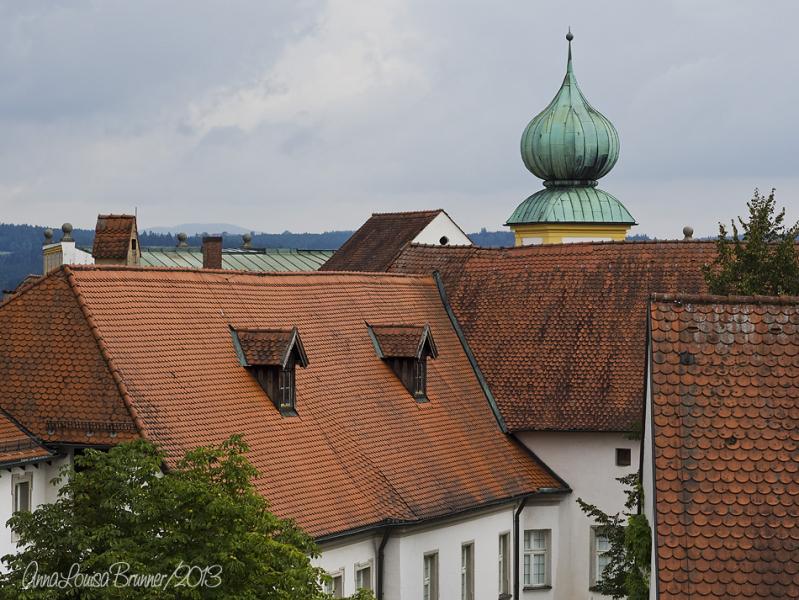 über den Dächern