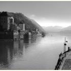Wo Donau und Ilz zusammen fließen